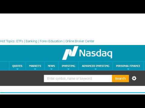 History Of NASDAQ Closing Data