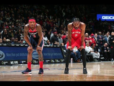 Kawhi Leonard and Bradley Beal Both Drop 40 PTS In Toronto Raptors vs. Washington Wizards Showdown