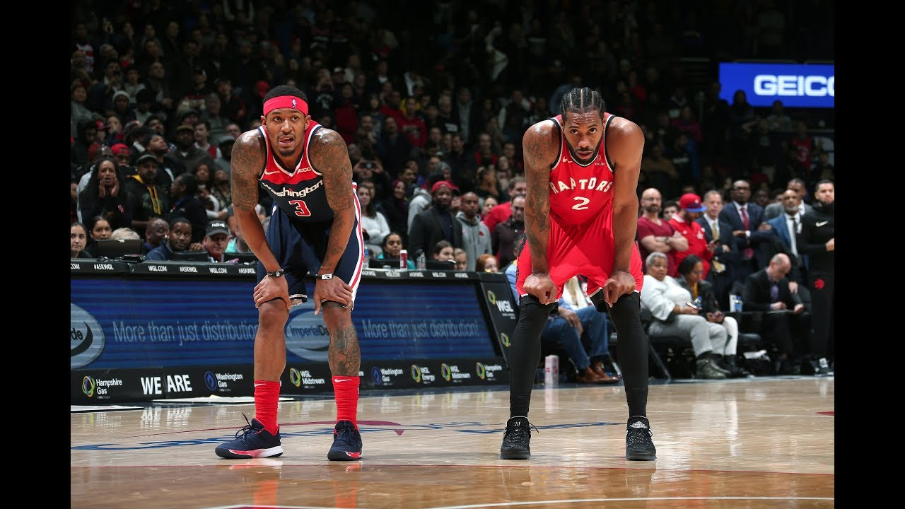 Kawhi Leonard and Bradley Beal Both Drop 40 PTS In Toronto Raptors vs. Washington Wizards Showdown