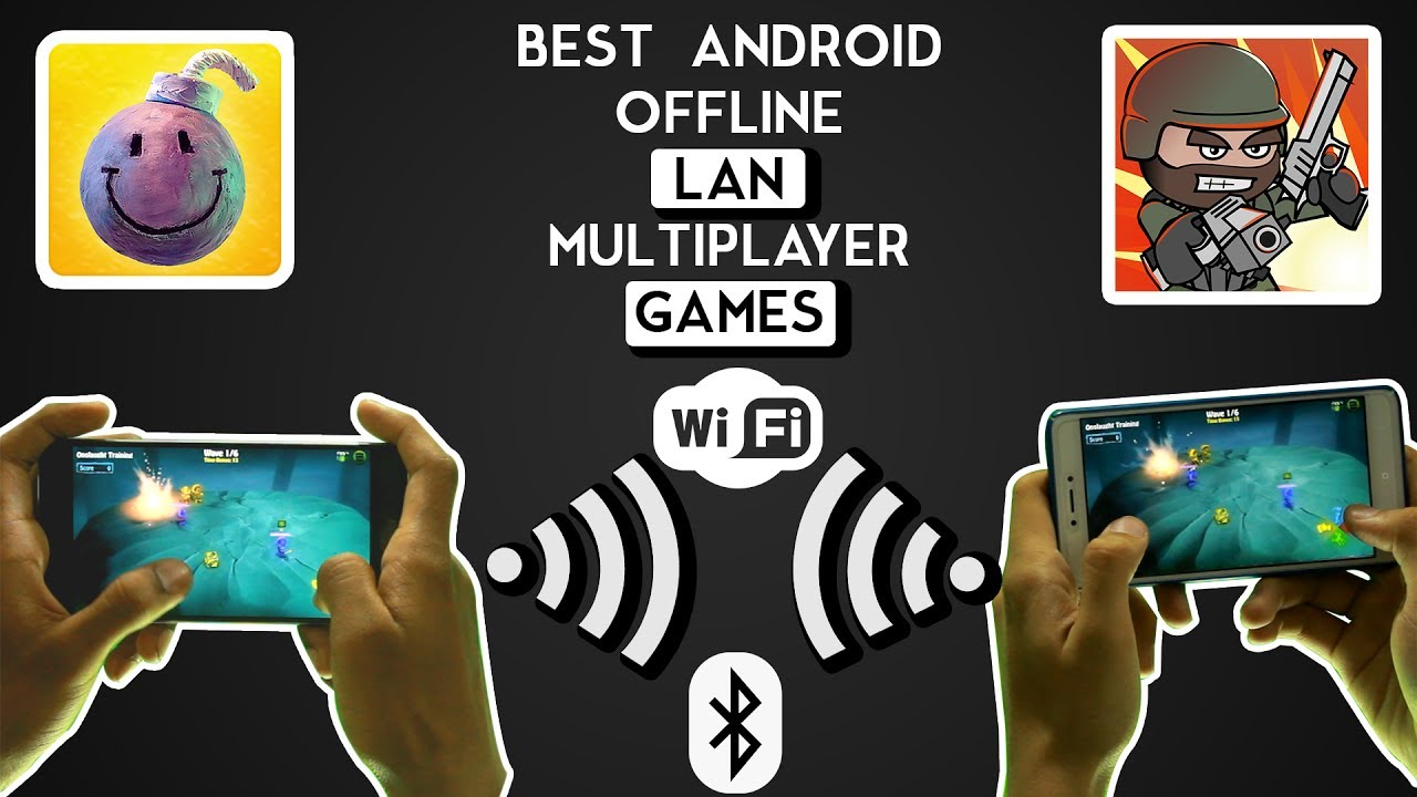 Top 10 offline LAN Games for Android - YouTube
