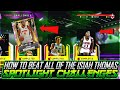 HOW TO BEAT ALL OF THE SPOTLIGHT ISIAH THOMAS CHALLENGES AND GET PINK DIAMOND ANDRE DRUMMOND!!