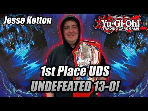 Yu-Gi-Oh! 1ST PLACE UNDEFEATED 13-0 UDS PANAMA: JESSE KOTTON DWELLER TURBO DECK PROFILE 2019!