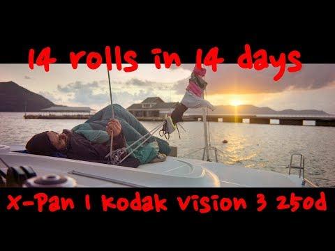 14 rolls in 14 days | Sailing Seychelles | Hasselblad Xpan | Kodak Vision 3 250d | Day 8