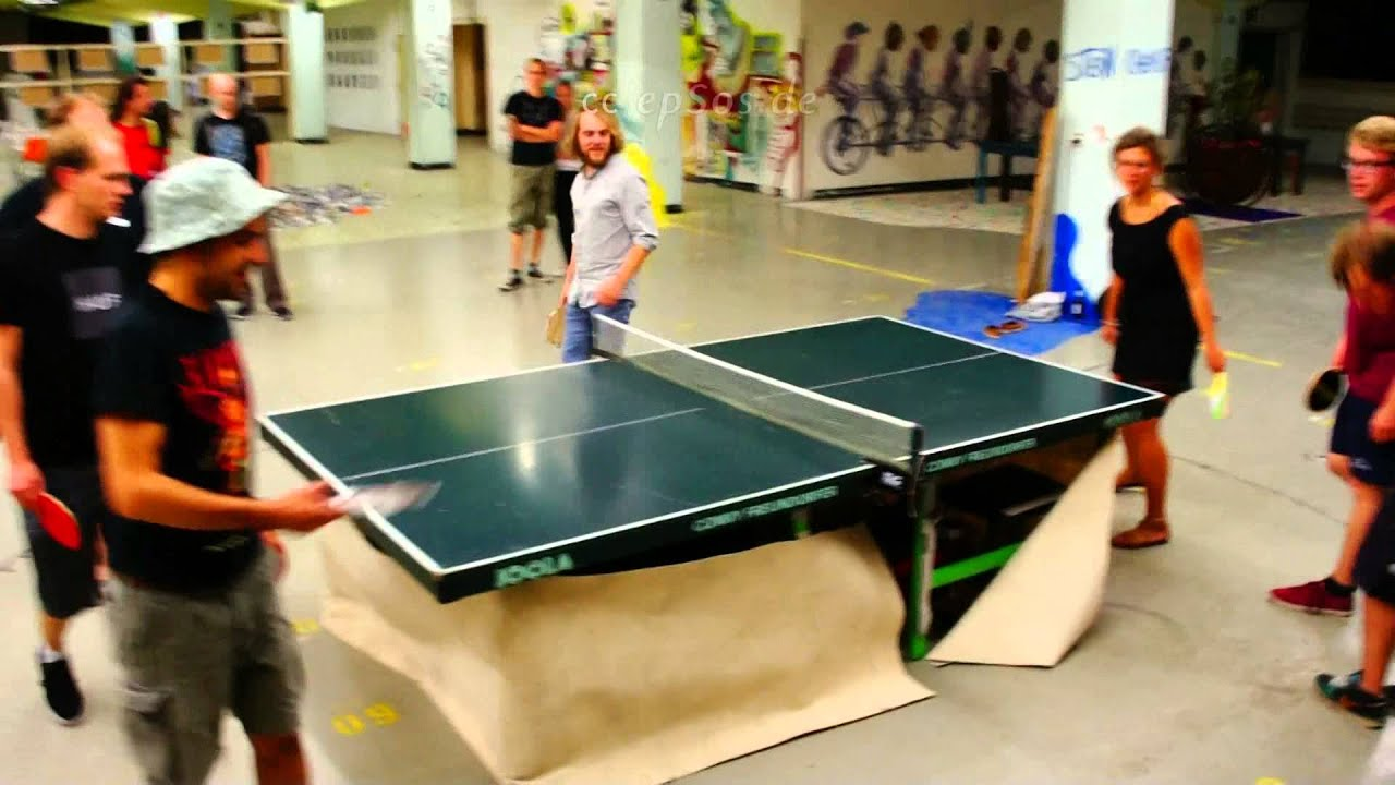 Extreme Ping Pong Popular Ping Pong Table Mod Youtube