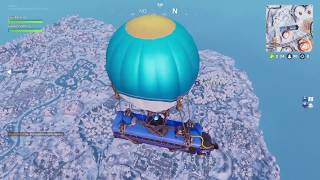 FORTNITE: ICE STORM (Let's face ice storm challenges) real victory in live 31