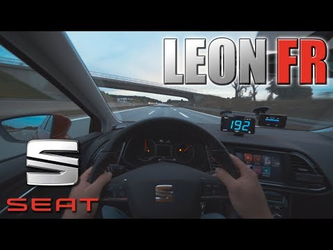 Seat Leon FR | POV- Cruising On German Autobahn✔