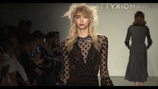 KATTY XIOMARA fashion show Fall Winter 2017 18 New York   Fashion Channel