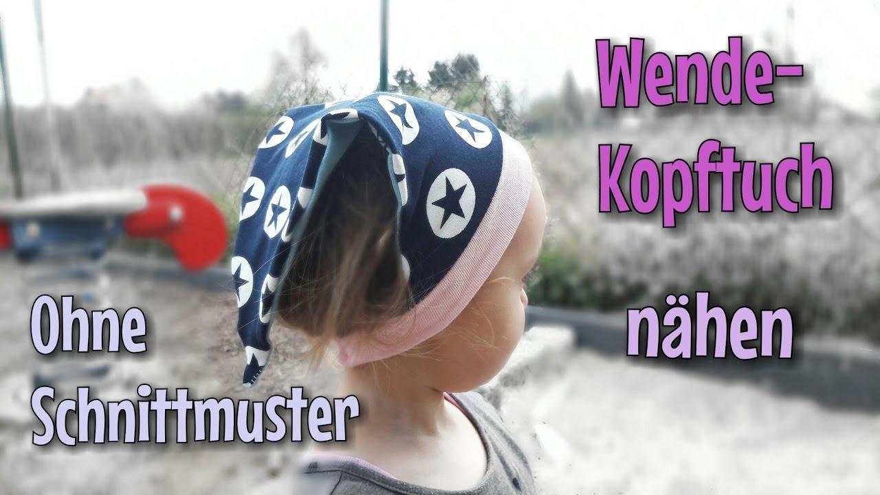 Kopftuch Nähanleitung - Ohne Schnittmuster - Anfänger - Nähtinchen ...