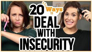 20 Ways to Deal With Your INSECURITIES   w/ Alexis G  Zall and Ayydubs