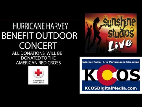 Managerie Live from Sunshine Studios, Hurricane Harvey Relief