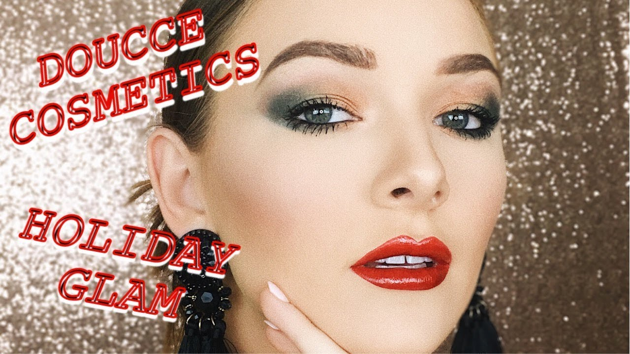 f16b5025590 HOLIDAY GLAM TUTORIAL || DOUCCE COSMETICS - YouTube