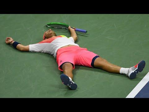 US Open Tennis Throwback: Lucas Pouille Defeats Rafael Nadal in an Epic 5-Set Thriller