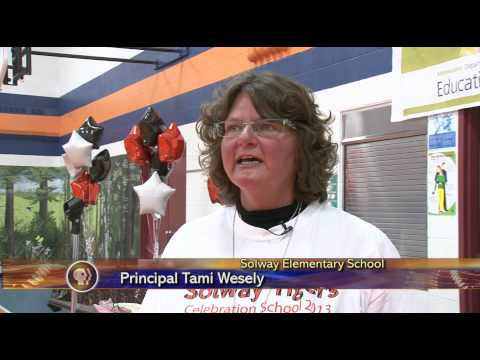 Solway Elementary School Celebrates 25-Years Running - Lakeland News at Ten - January 13, 2014