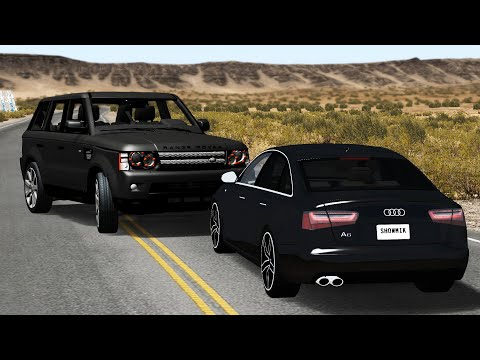 Luxury Car Crashes Compilation #5 - BeamNG.Drive •ShowMik