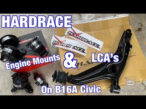 EK4 CIVIC HARD RACE CONTROL ARMS AND ENGINE MOUNTS