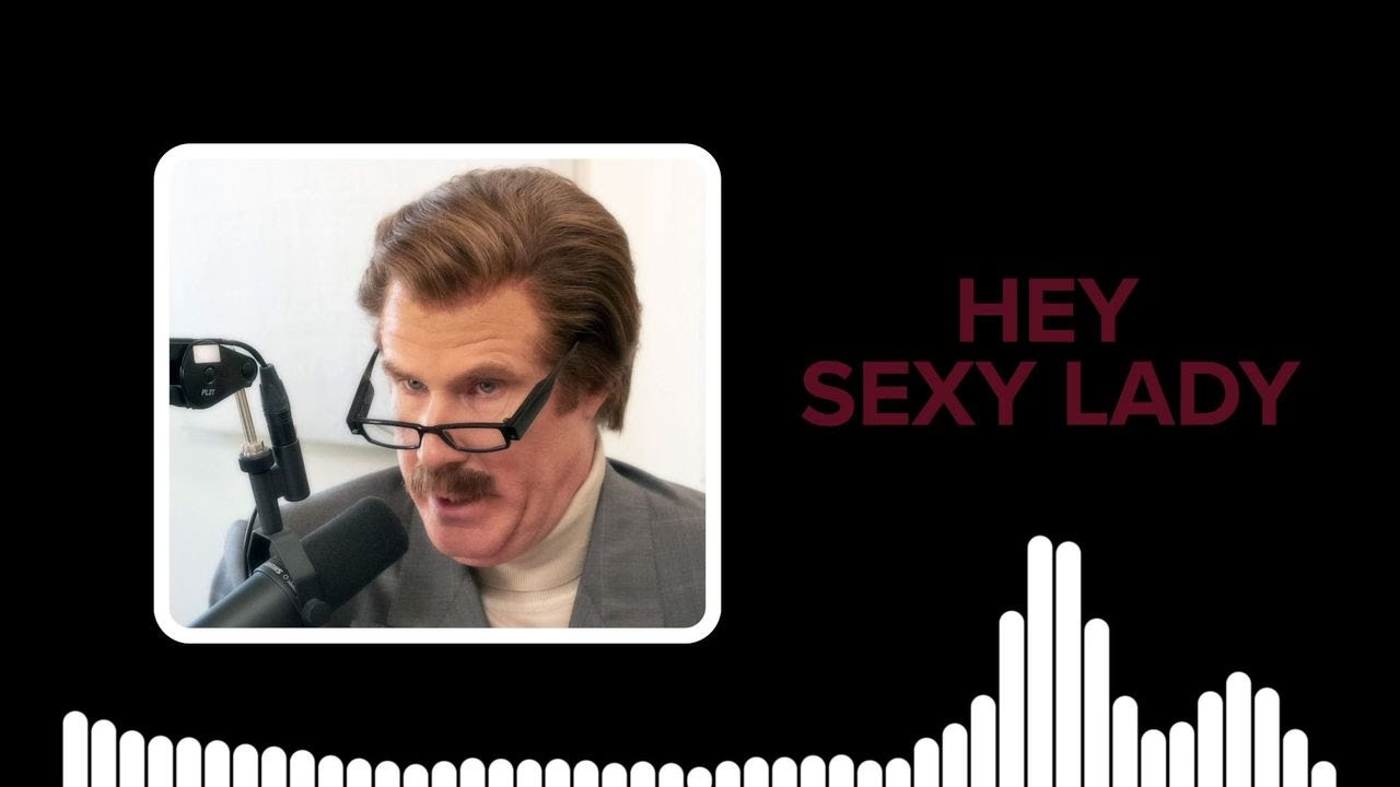 Ron Burgundy Makes Up His Theme Song