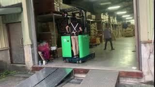 新竹某工廠訂做活動式斜坡道-1