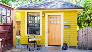 Charming Studio Apartment In A Tiny Backyard House | Lovely Tiny House