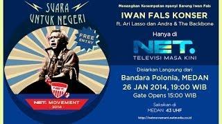 Konser Iwan Fals Suara Untuk Negeri MEDAN 26 Januari 2014