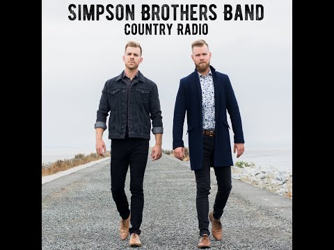 Simpson Brothers Band - Country Radio (Official Lyric Video)