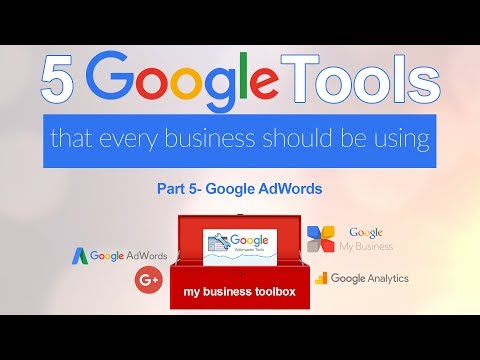 Five Google Tools Every Business should use-Google Adwords