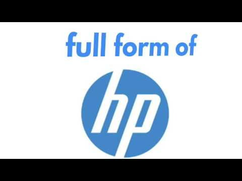 HP laptop full name // HP the international laptop maker company ...