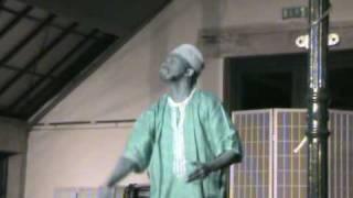 Senegalant - Saarkastisch   -  Ibrahima Ndiaye  alias Dr. Ibo  -  Deutsche Sprache, schwere Sprache