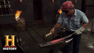 Forged in Fire: Damascus Pattern Forge (Season 5) | History
