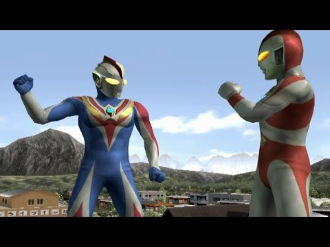 Ultraman 80 & Cosmos Future TAG Team Mode ★Play ウルトラマン FE3