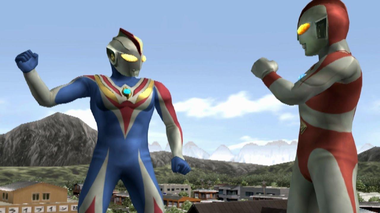 Ultraman 80 & Cosmos Future TAG Team Mode ★Play ウルトラマン FE3