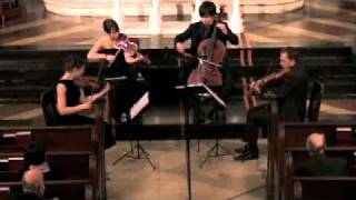 Attacca Quartet Plays Haydn Op. 20 no. 3 - Third Movement