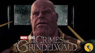 Marvel Studios' Avengers: Infinity War - Official Trailer Fantastic Beasts Style