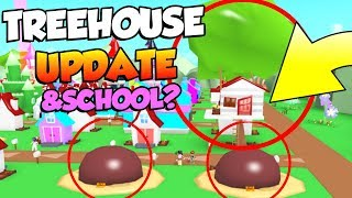 *NEW* TREEHOUSE + ROCK ESTATE in Roblox Meep City! & School?