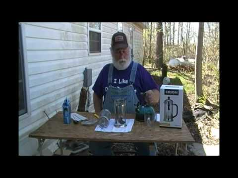 PawPaw is Asked to do a Product Review on the Cosori French Press