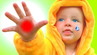 Бу бу ай болит - Детская песня | Песни для детей от Кати и Димы
