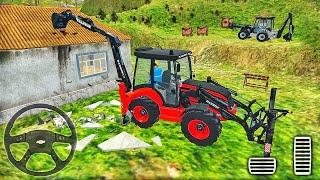 무거운 굴삭기 크레인 시뮬레이터-City Builder Construction 2020-Android 게임 플레이