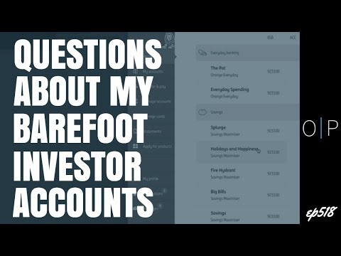 Questions About Barefoot Investor Bank Accounts