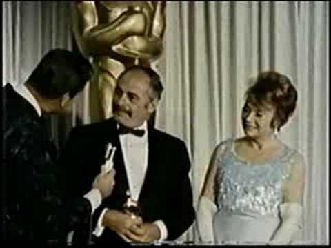 Martin Balsam & Lila Kedrova Academy Awards 1965