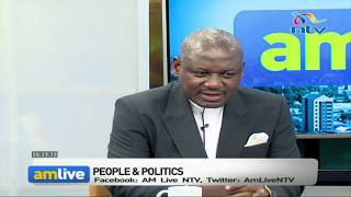 Laboso's widower, Edwin Abonyo, appointment has been over hyped - MP Amollo || AM Live Video