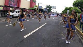 DESFILE ESTUDIANTIL 15 DE SEPTIEMBRE 2018 EL SALVADOR ( PARTE 2 ).