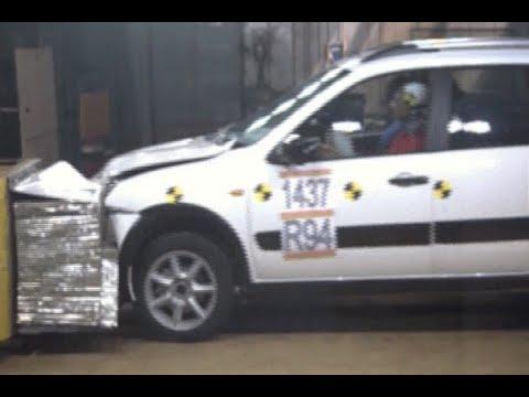 ЭКСКЛЮЗИВ: видео краш-теста и тест-драйв LADA Kalina Cross