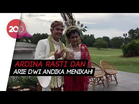 Sah! Ardina Rasti dan Arie Dwi Andika Jadi Suami Istri