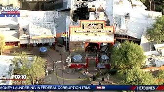 FNN: Cave Creek, AZ Silver Spur Saloon Fire Damage Aerials