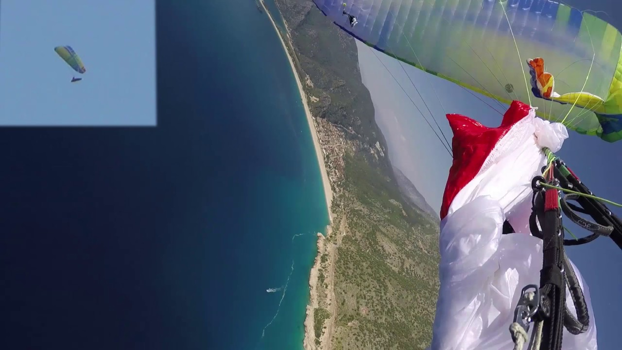 Paragliding SIV full stall gone wrong... reserve throw into the wing