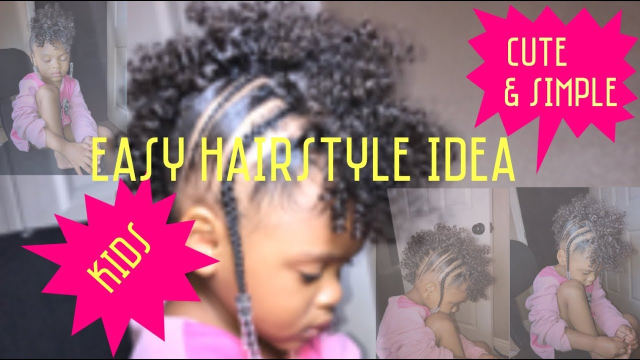 hair styles kids easy simple amp hairstyle braids mohawk 6434 | maxresdefault