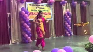 Meri udd di vekh fulkari dance