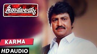 Karma Bhoomilo Full Song - Sri Ramulayya Movie Songs - Mohan Babu, Nandamuri Harikrishna, Soundarya