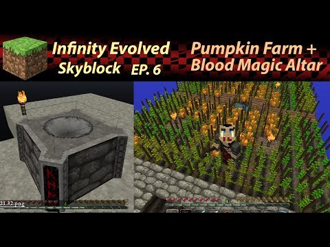[Between two Episodes] Automatic Sifting! Minecraft - Infinity Evolved/Skyblock Ep.6