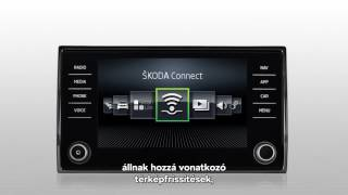 ŠKODA Connect - Online térképfrissítés