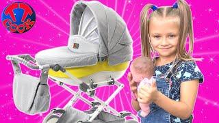 Обложка на видео о Посылка для Ярославы! Коляска для Куклы Реборн Видео для детей
